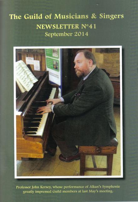 GMS newsletter cover