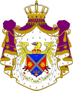 Full coat of arms Polanie-Patrikios